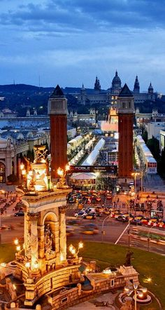Barcelona, Spain One of the cities in the world I have to see....there's more in Spain than in any other foreign country I want to see