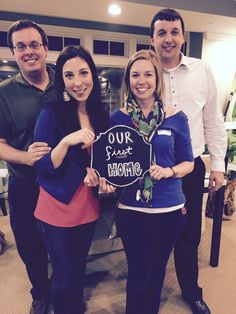 Warm welcome to these first time homebuyers! Congratulations.