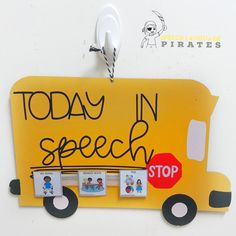 Visual Schedule in Speech Therapy