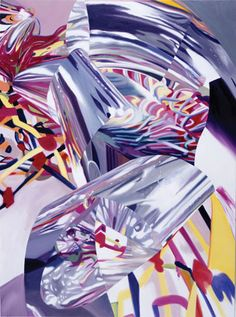 James Rosenquist. Fix - Speed of Light. 2000. Oil on canvas. 68 x 50 in.