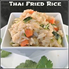 Mom, What's For Dinner?: Vegan Thai Fried Rice
