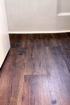 TrafficMaster Allure Vinyl Plank Wood Floor - in Hickory http://southernhospitalityblog.com/allure-vinyl-plank-wood-floor/# IMG_5529