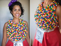 How to make a gumball machine costume http://www.raxclothing.com/