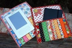 "FREE project: ""The Bookkeeper"" Kindle or book case (from Moda Bake Shop)"