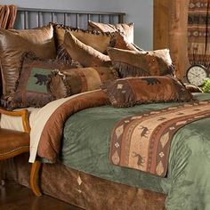 Thank you. You will receive a $1 off coupon during checkout. Northern Pine Rustic Bedding – Lodge Style Comforters