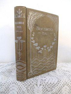 Bracebridge Hall book Washington Irving by vintageboxofdelights