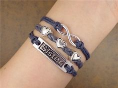 Hey, I found this really awesome Etsy listing at https://www.etsy.com/listing/195673596/sister-braceletbridal-jewelrylove