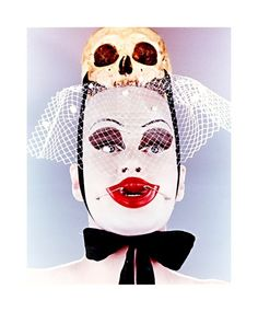 Untitled: Leigh Bowery with Scull, 1992