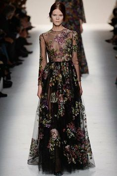 Valentino PFW AW14: We Died of Beauty - Eluxe Magazine