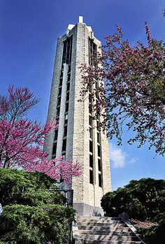 The Campanile, University of Kansas #ku #jayhawks