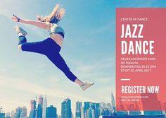 CENTER OF DANCE -  neuer JAZZ DANCE - ANFÄNGER KURS START 20. APRIL 2017  20.15 Uhr
