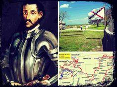 En 1539 parte de La Habana al mando de Hernando De Soto una expedición a Florida, Georgia, Carolina del Sur, Tennessee, Alabama Mississippi Arkansas y Texas