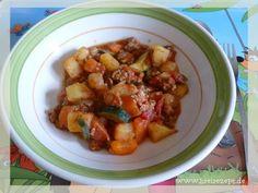 Gemüsegulasch für Mama und Kind