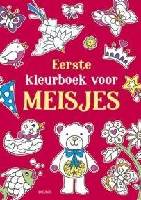 Babyshop@Home - Eerste Kleurboek voor Meisjes Knutselen
