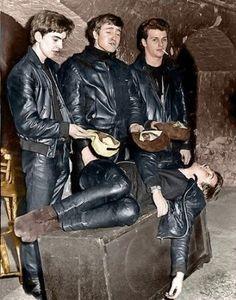 Beatles, just babies then.