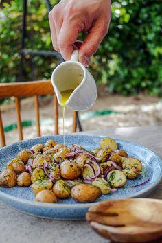 Greek Recipes, Light Recipes, Vegetarian Recipes, Cooking Recipes, Healthy Recipes, Speed Foods, Potato Recipes, Street Food, Delish