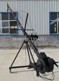 790.00$  Watch here - http://ali64t.worldwells.pw/go.php?t=32679928083 - jib crane 6m 2-axis Octagon   pan tilt head portable camera crane dslr  with dolly and monitor Factory supply