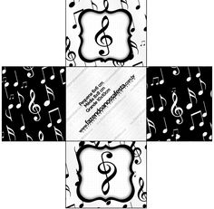 Uau! Veja o que temos para Forminhas Docinhos Quadrada Notas Musicais Karaoke Party, Music Party, Music Cookies, Music Notes, Origami, Musicals, Cello, Paper Crafts, Tags