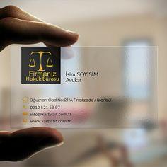 avukat-seffaf-kartvizit | Kartvizit.com.tr
