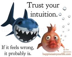 Trust your intution. If it feels wrong, it probably is.