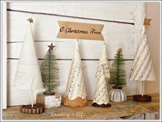 Decoracion para navidad Vintage