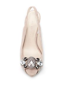 Would be pretty for wedding shoes