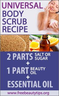 Homemade Body Scrubs: Salt & Sugar Natural Recipes