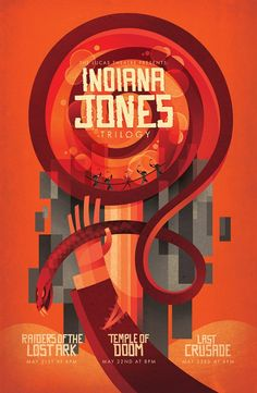 Indiana Jones Poster by Sean Loose