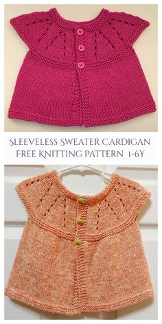 Crochet Baby Cardigan Free Pattern, Baby Knitting Patterns Free Newborn, Boys Knitting Patterns Free, Baby Sweater Patterns, Knit Vest Pattern, Knit Baby Sweaters, Knitted Baby Clothes, Free Knitting, Pattern Sewing