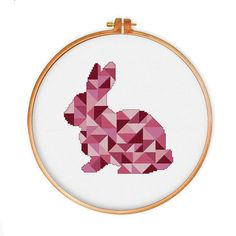 Beautiful bunny cross stitch pattern! I will make it for my daughter's room <3
