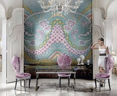 sicis   How to do a Feature Wall by Sicis