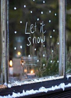 18 einfache DIY-Ideen für deine Weihnachtsdeko | SoLebIch.de #solebich #christmas #weihnachten #advent #decor #deko #snow #windowdecor #fensterdeko