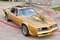 78 Pontiac Trans Am Gold Edition, matching numbers 1978 Pontiac Trans Am, Pontiac Firebird Trans Am, Best Muscle Cars, American Muscle Cars, American Gas, Firebird Car, Pontiac Cars, Gm Car, Old School Cars