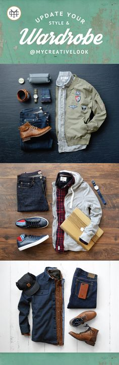 Update Your Style & Wardrobe by checking out Men's collections from MyCreativeLook | Casual Wear | Outfits | Fall Fashion | Boots, Sneakers and more. Visit mycreativelook.com/ #wardrobe #mensfashion #mensstyle #menswear #mensclothing