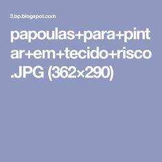papoulas+para+pintar+em+tecido+risco.JPG (362×290)
