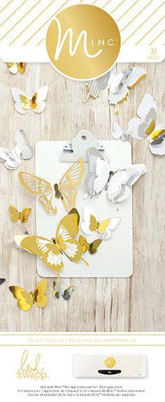 Heidi Swapp Minc 3-D Butterflies by LetUsCelebrate on Etsy