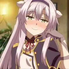 Sistine Rokudenashi majutsu koushi to akashic records Cool Anime Girl, Beautiful Anime Girl, Kawaii Anime Girl, Cute Anime Chibi, Chica Anime Manga, Anime Gifs, Anime Art, Akashic Records Anime, Sistine Fibel