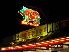 You'll want to eat at Mo's, when you're in Pismo Beach, California.