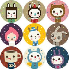 kawaii stickers - Google Search