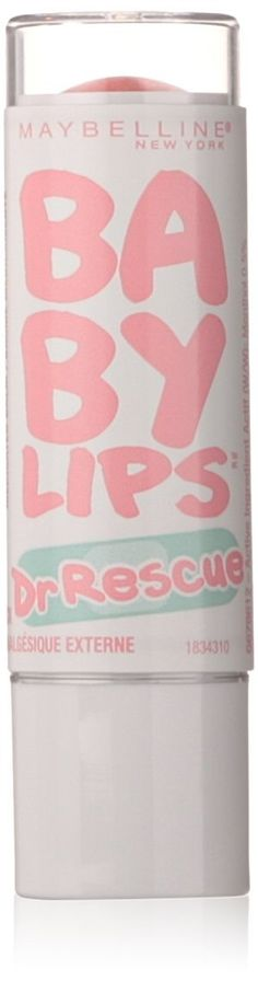 Maybelline Dr. Rescue Baby Lips Lip Balm, Coral Crave -(Quantity 1)(4.4 grams) ** Wow! I love this. Check it out now! : Make up lipstick