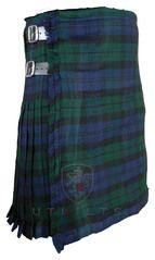 Black Watch Tartan Traditional Scottish Kilt - 16 oz 8 yard