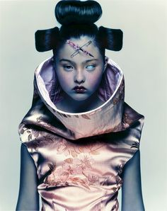 This is a photoshoot of a robotic influence. I used this image to look at robot expression. NNM