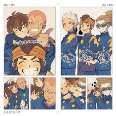 Stray Dogs Anime, Inazuma Eleven Go, Best Friendship, Manga, My Character, Thing 1, Childhood, Drawings, Fictional Characters