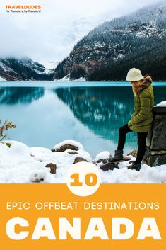 Ten incredible offbeat destinations in Canada to add to your travel bucket list. Get off the beaten path and discover places in Canada that no one else knows about, spanning from Ontario to Newfoundland to British Columbia and beyond. Travel in Canada. Canada Travel, Travel Usa, Canada Destinations, America And Canada, North America, Travel Tags, Us Road Trip, Mexico Travel, Cheap Travel
