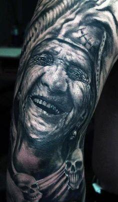 Tattoo Artist - Przemysław Aero Walkowiak - indians tattoo | www.worldtattoogallery.com