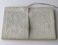 Artist Ryuta Iida's Beautiful Book Cuts