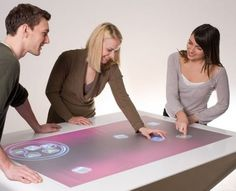 interactive tables are the future... then lets bring in full on interactive walls and floors shall we?