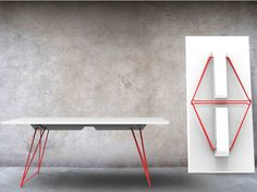 Folding table LUCY by Johanson Design | design Alexander Lervik