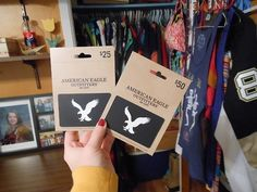 American Eagle gift cards ♡ My tumblr is flowercrown-unicorn