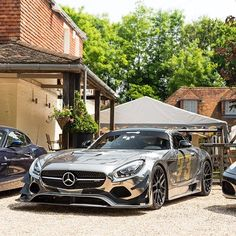 A great car to take to the pub! #Mercedes #amg #gt3